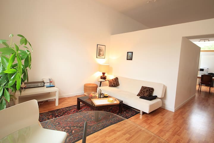 Bright and quiet apartment - Schaarbeek - Daire