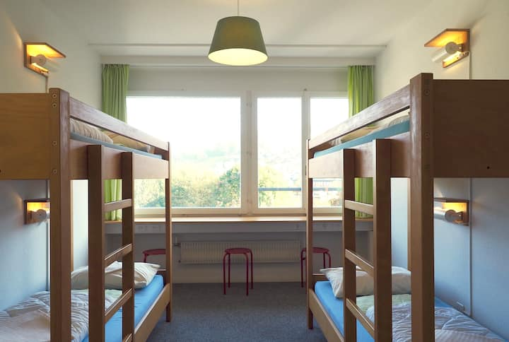 4-bed Male Dormitory at Hostel 77 Bern