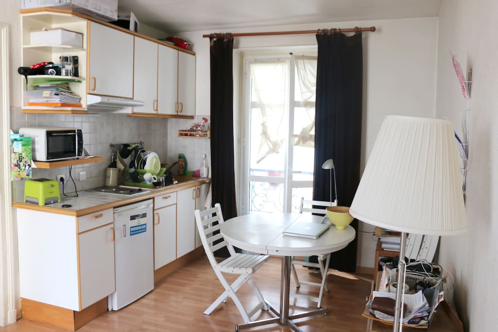 Salle à manger + cuisine