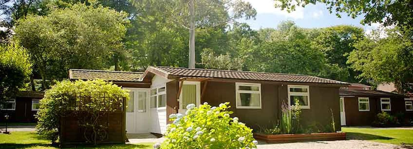 Three Bedroomed Holiday Lodge nr St Austell