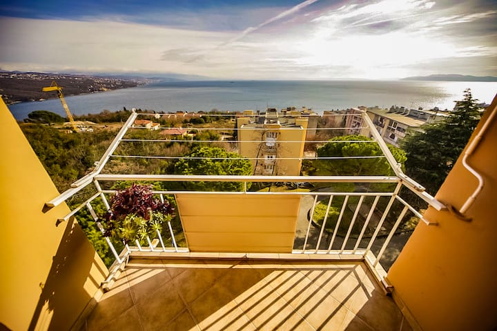 Sea view apartment in Opatija