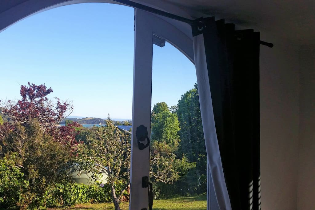 Outlook east facing
