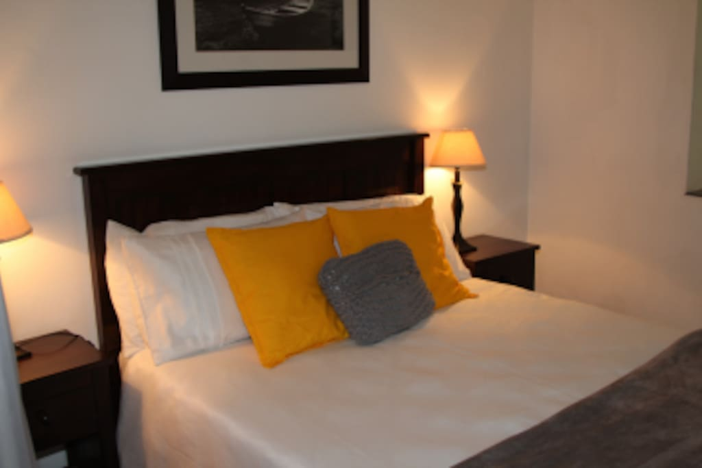 Most of our rooms feature soft and comfortable double beds.
