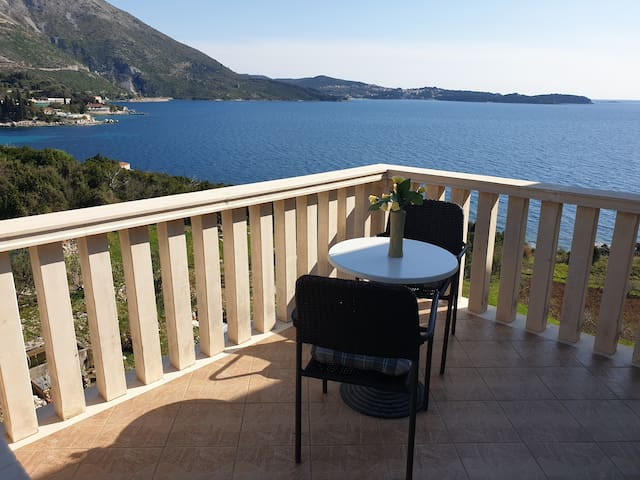 Studio Apartments Lira balcony sea view