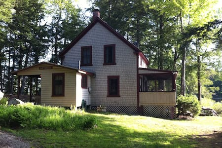 Maine Lakeside Cottage - Bridgton - Cabin