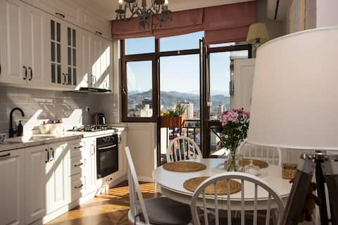 Apartment in Central Batumi -700 m. from beach
