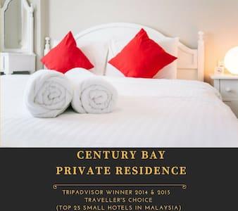 Century Bay Service Residence 3BR 0301 - Gelugor - Obsługiwany apartament