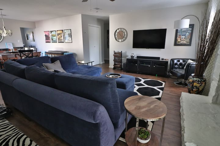Charming, updated, eclectic Austin original!