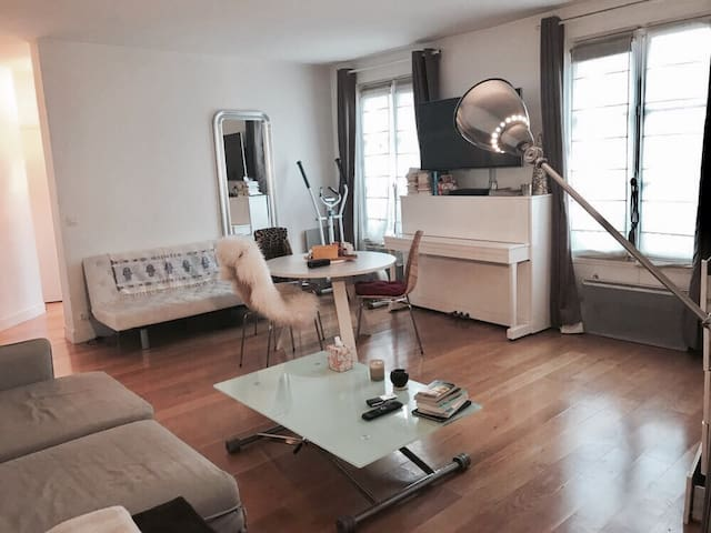 Appartement au cœur de Paris