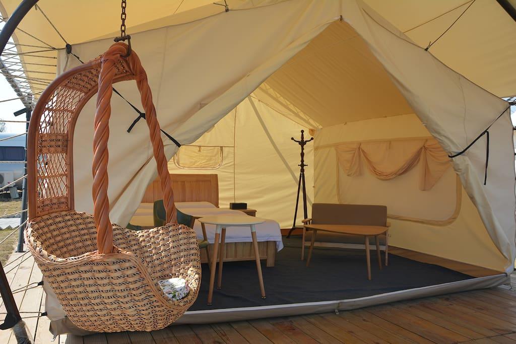 普通帐篷房