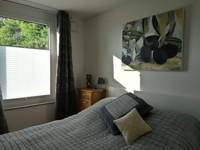 NEW - Modern room with breakfast, gym & wifi. - Daisendorf - Bed & Breakfast