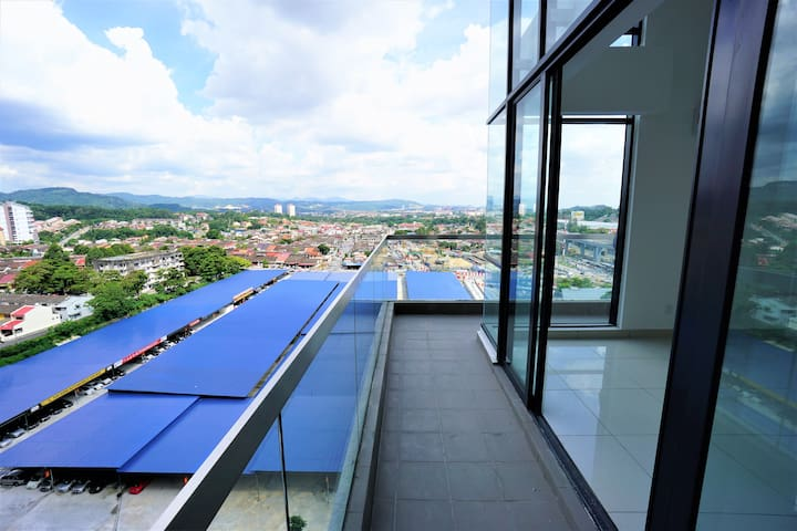 Ceras Penthouse near Nature with a city view