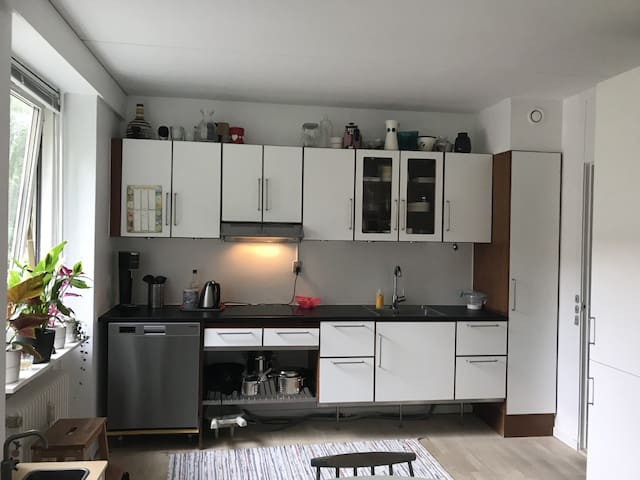 Kitchen with dischwasher