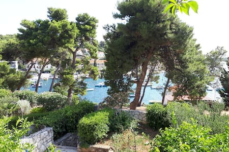 Hvar, 3' Center walk, WiFi, free parking, terrace
