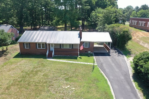 Lovely home with large fenced yard