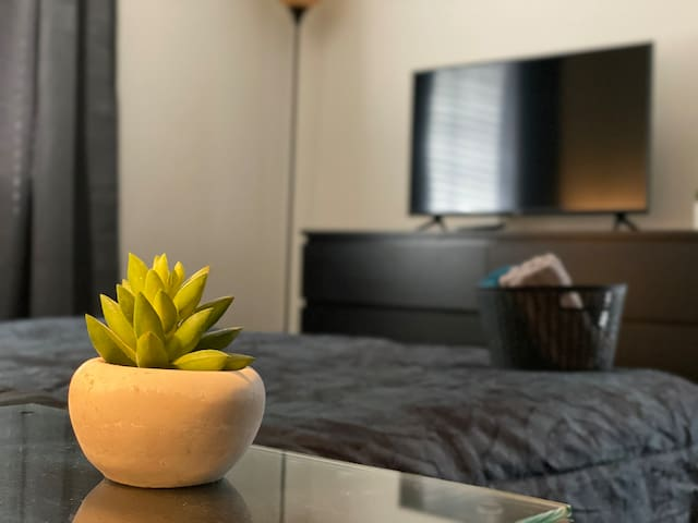 Comfy Master bedroom suite close to Strip!