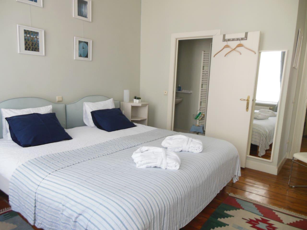 BEDROOM AND SHOWERROOM ENSUITE