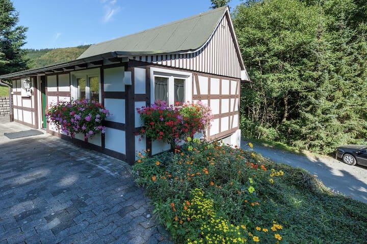 Pequeña casa independiente en Sauerland junto al bosque