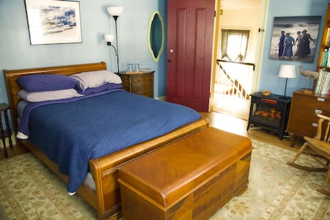 Blue Whale Room at Flying Whale Landing