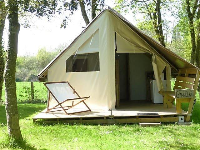Sahari Lodge Cannelle - Aizenay - เต็นท์