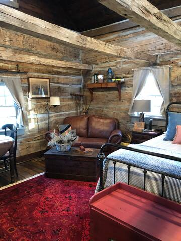 Reading nook or cozy spot to watch TV.