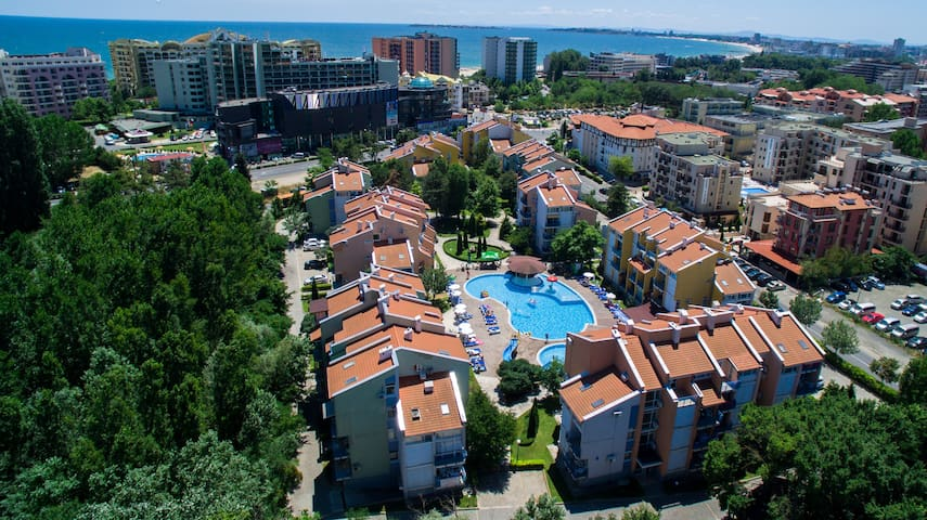 ELIT 1 apartments - tree-bedroom ap - Sunny beach - Apartamento