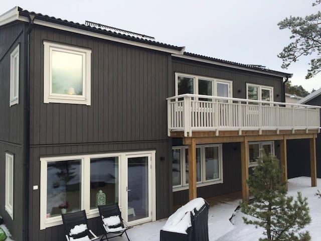 200kvm nybyggd villa i Stora Ursvik - Sundbyberg - Casa
