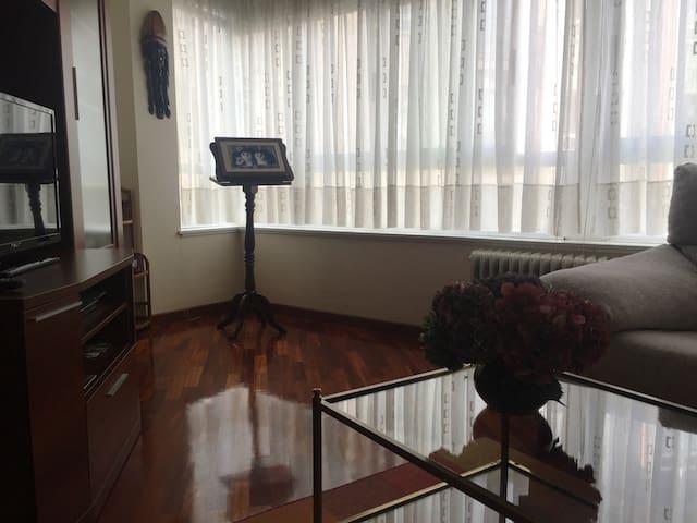 Compostela Sur. Bonito cómodo y equipado aprmto