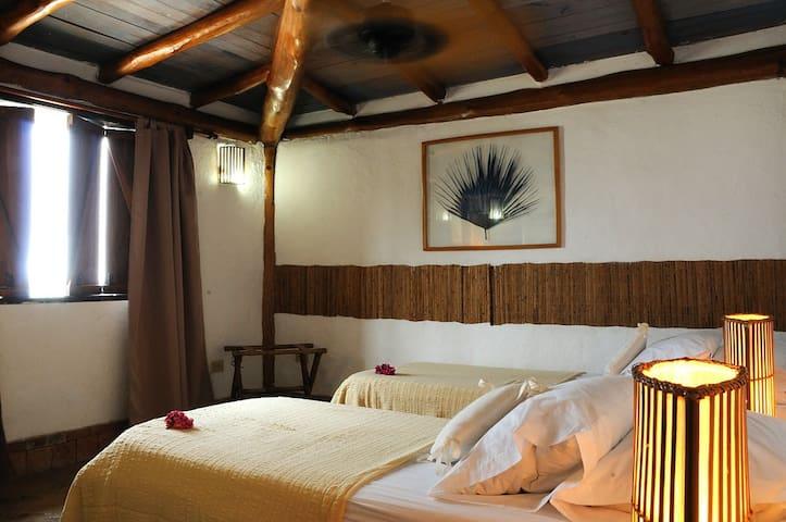 habitación de camas individuales