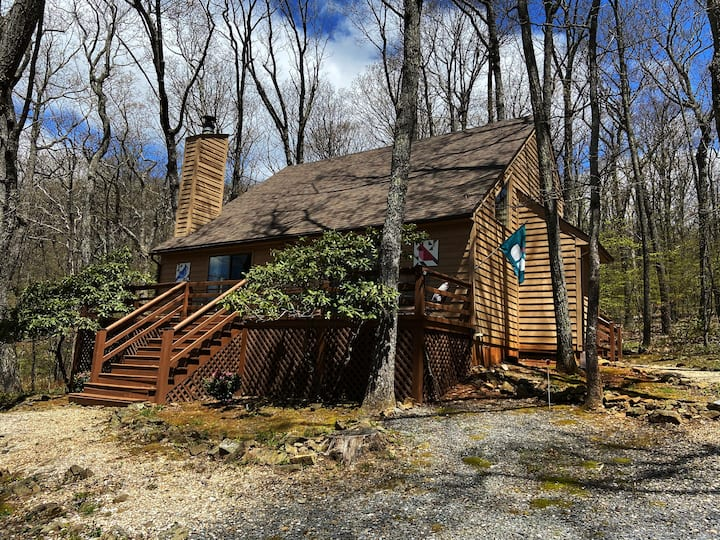*Have cabin fever at home?* Come enjoy our cabin!