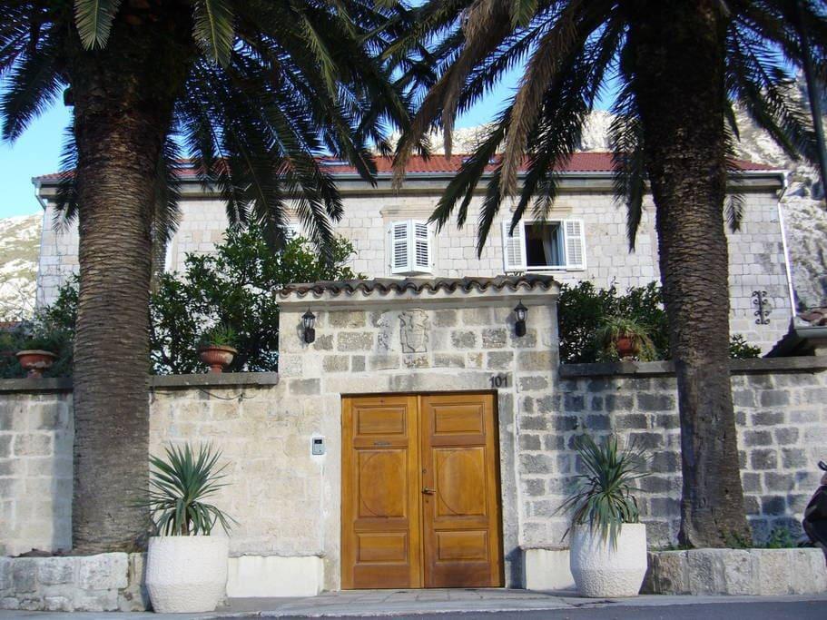 house main gate
