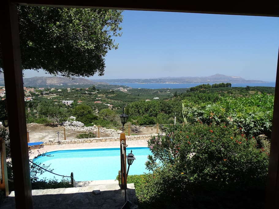 Pool and view from the Veranda
