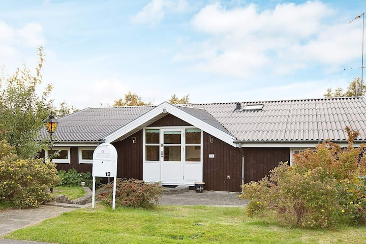 Quaint Holiday Home in Skibby Denmark with Terrace