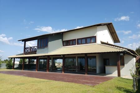 Casa de Praia de luxo ideal para família e kite.
