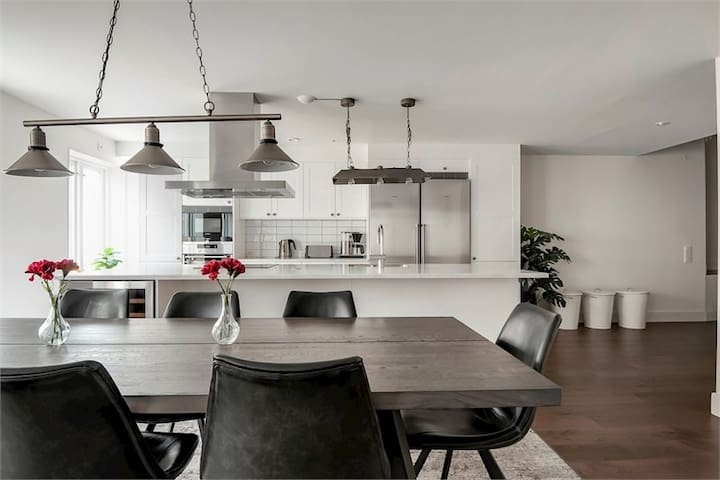 Luxurious downtown apartment in Visby