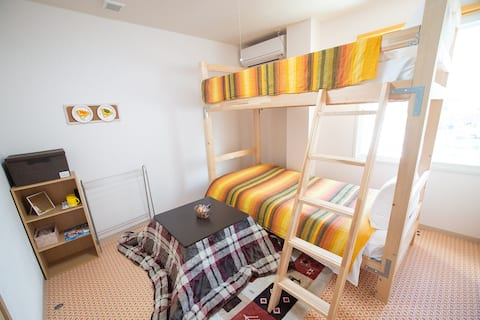 "Room ""Candy"" 7 minutes  from Hakodate Station!"