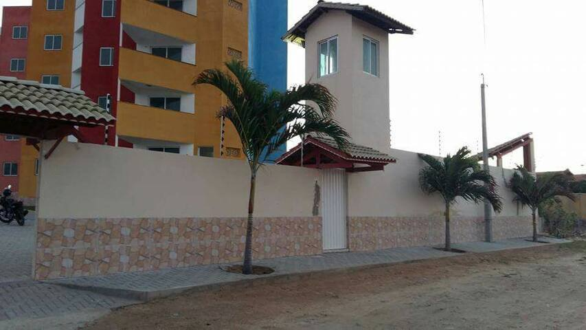 Excelente apto com Varanda na Praia - Morro Branco,  Beberibe - Apartment