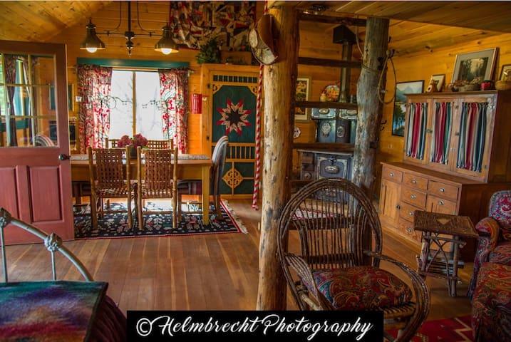 Montana Style Cabin