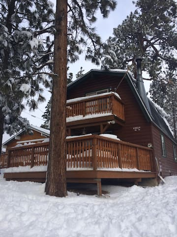 Romantic mountain views near skiing zoo and lake for Romantic big bear cabins