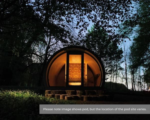 Ocean View Pods, Glenarm Estate (Forest Glen)