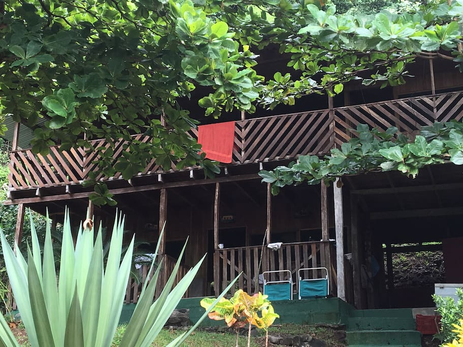 Although, the main rustic cabana is very basic, it is enough to enjoy a great time with family and friends.