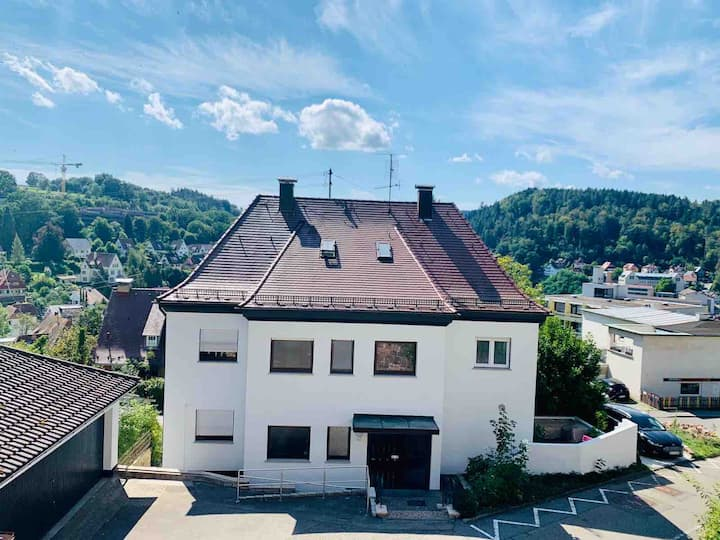 Modernes Zimmer am Rande des Schwarzwalds