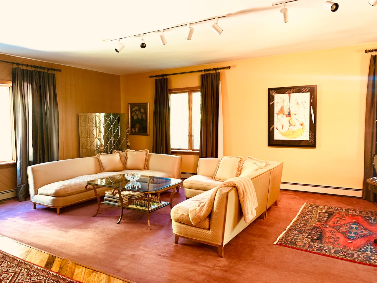 Formal Living Area with plenty of seating for all