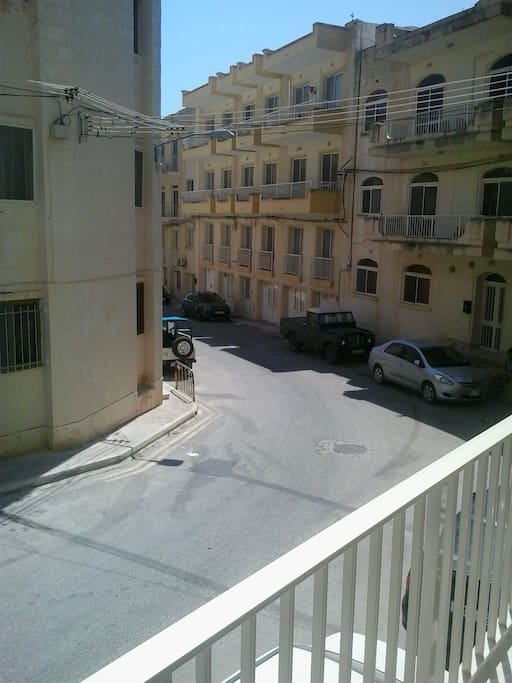 The road from the Balcony