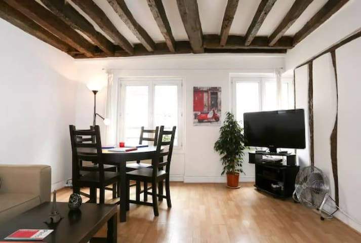 ** Typical Paris Apartment Right in the Center **