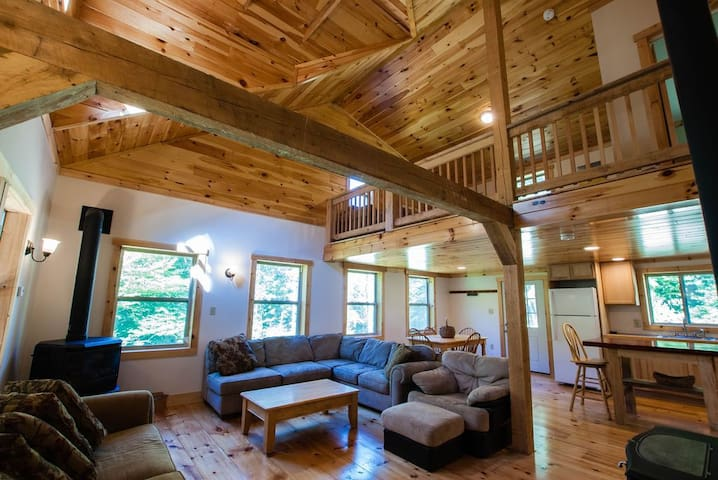 Distance yourself from society @ Cold Brook Cabin!