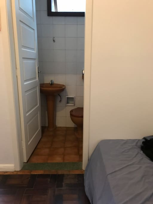 Lavabo privativo do quarto