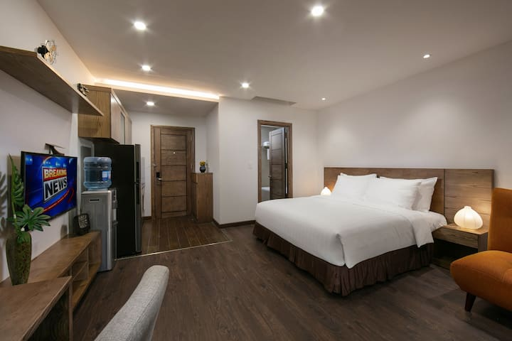 Traditional serviced apartment in city center