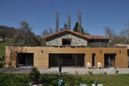 Chambre indépendante dans maison spacieuse - Cier-de-Rivière - Rumah