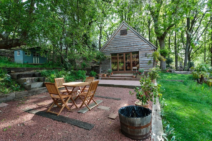 Luxury New Forest Woodland Lodge Retreat.